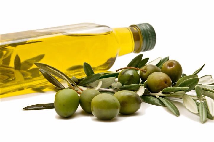 Apply olive oil to all hair and cover with cling film and leave over night