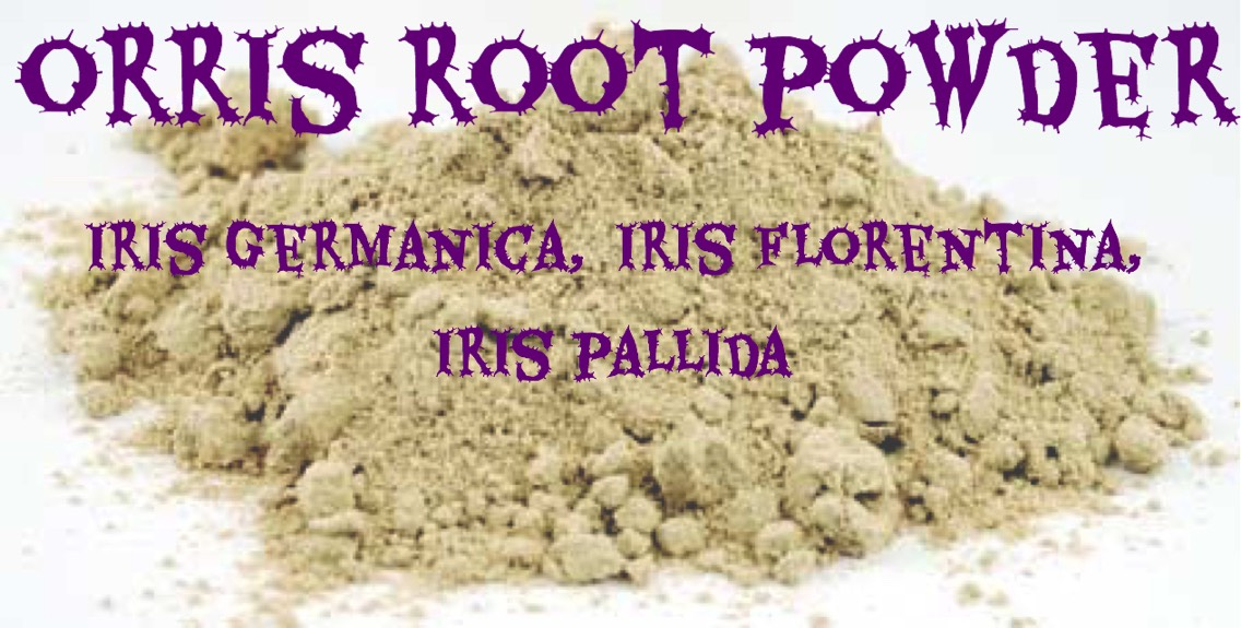 # 2 |Orris root powder is really moisturizing, very gentle on the skin + smells just like violets!Mix with water (or yogurt, aloe vera, floral waters) + apply in the same way as theclay mixtures.