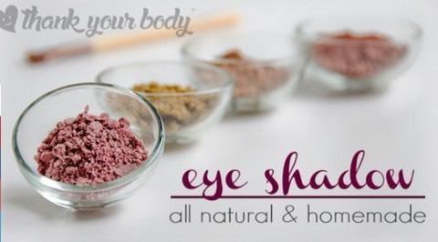 Homemade Eyeshadow  http://www.thankyourbody.com/all-natural-homemade-eye-shadow-recipe/