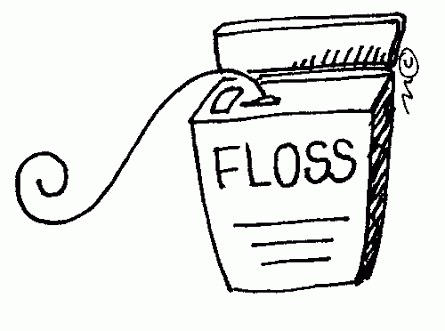 You need floss! The most embarrassing thing is lettuce between your teeth aha