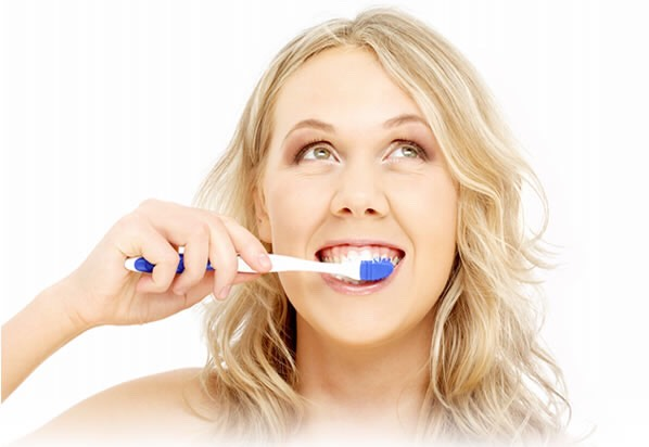Brush your teeth regularly twice a day properly and your teeth will be healthier and whiter!