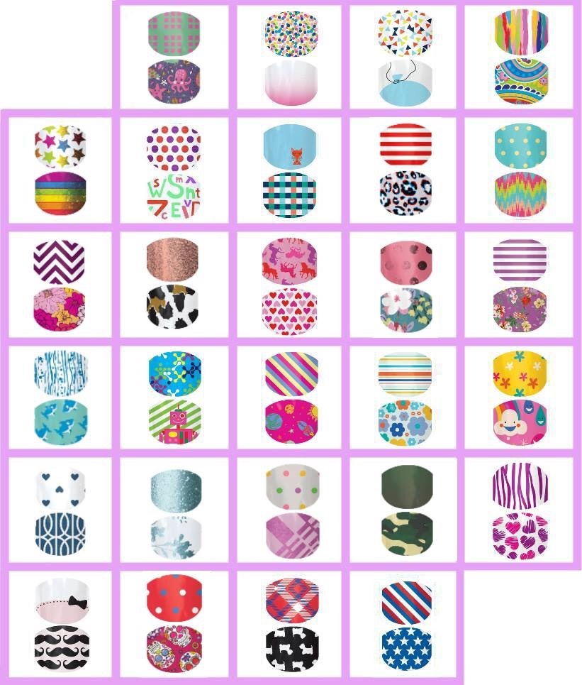 Jamberry even offers a Juniors line for our little princesses!!!