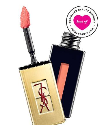 """BEST: No. 1 {Yves Saint Laurent Beauty Rouge Pur Couture Vernis a Levres Glossy}  """"These stains remain glossy on your lips, last all day and feel completely weightless."""" Overall, users agree: This beautiful stain is like """"your lips, but better."""""""