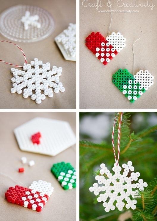 8. Beaded Ornaments