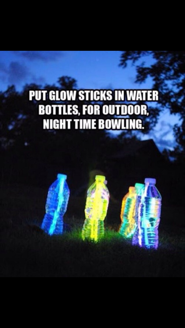Great way to have fun in the dark. Kids love it too