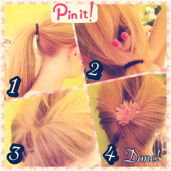 Make Your Ponytail Pop Super Easy Hairstyle You Can Do In