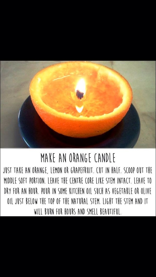 With this handy tip you might never have to buy a candle again!