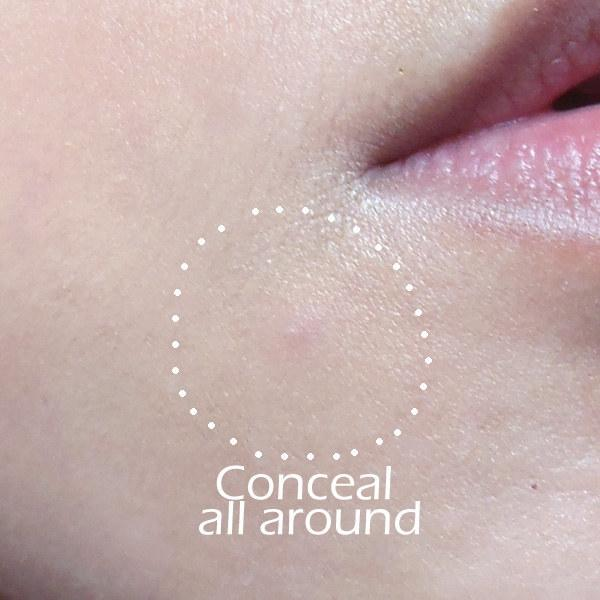 17. Apply concealer around a zit as well as on top of it. This will make it easier to blend it in with the rest of your makeup.