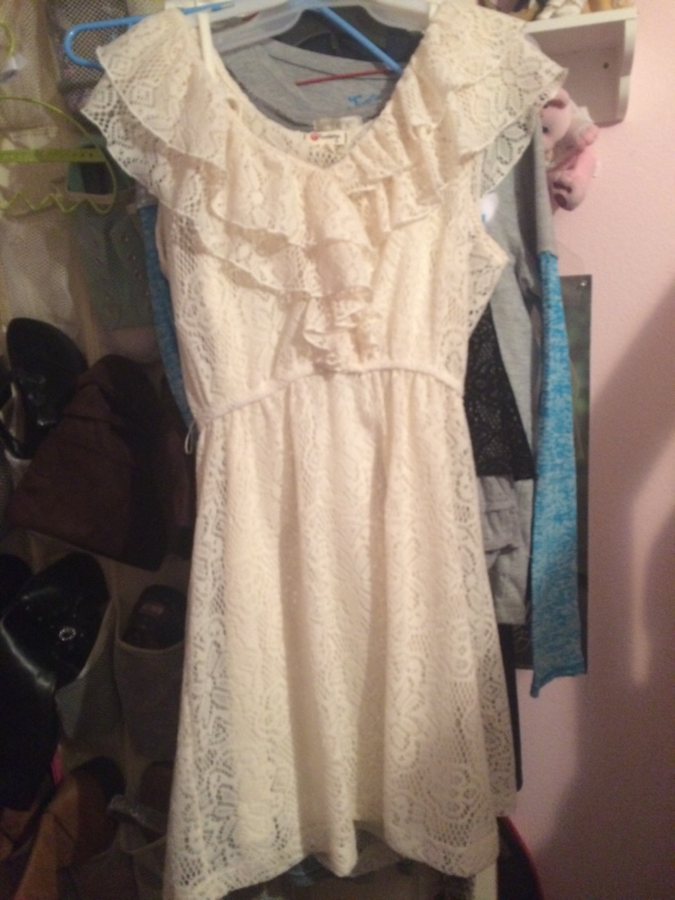 The theme is all white so should i wear this dress or...