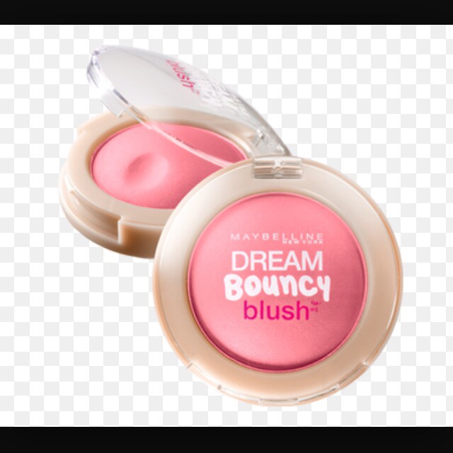 Add blush on your cheek bones to give your face some Color