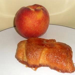 Easy Peach Turnovers: http://hezzi-dsbooksandcooks.com/2011/07/easy-peach-turnovers.html?utm_referrer=http%3A%2F%2Fwww.crazyforcrust.com%2F2013%2F08%2F48-breakfasts-and-desserts-using-pillsbury-crescent-rolls%2F