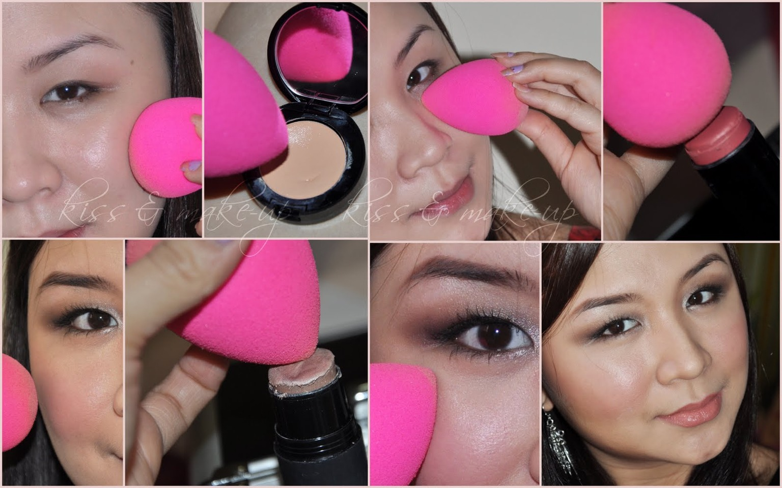 The beauty sponge works great to blend your makeup when contouring esp if you have dry skin. It's also very inexpensive on amazon. Hope you enjoy! Please like and follow 💄💋