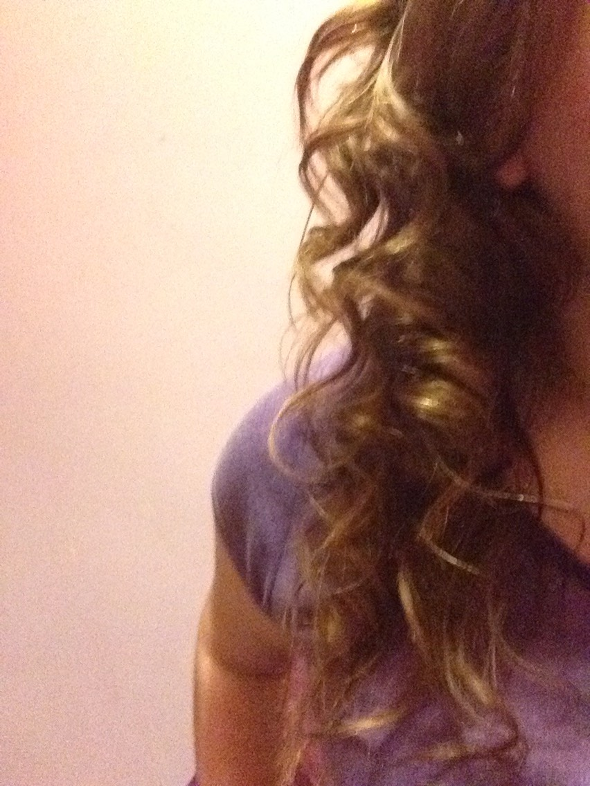 To prove they stay in, this is my hair after 12 hours of doing my hair, they have only fallen slightly