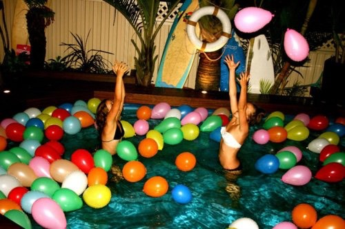 Host a pool/ house party! You'll meet so many new people! And if you can't host one, go to one!