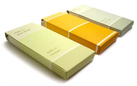 Card Holders http://www.designverb.com/2006/11/12/paint-chip-card-holder/