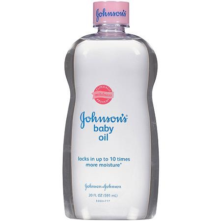 Baby oil will help your hair to grow because your hair produces a natural oil, but if your hair doesn't seem to be growing then this is because your hair isn't producing oil so you are helping your hair grow by adding the oils that your hair isn't producing.