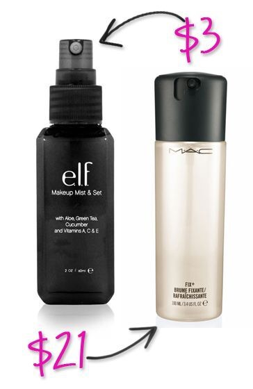 elf is dupe queen TBH lol but the elf makeup setting spray is a dupe for the Mac fix+