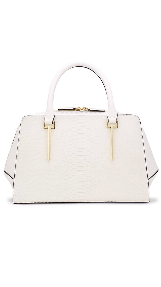 A rich exotic skin texture means this bag is as seasonally appropriate for winter as it is for spring.