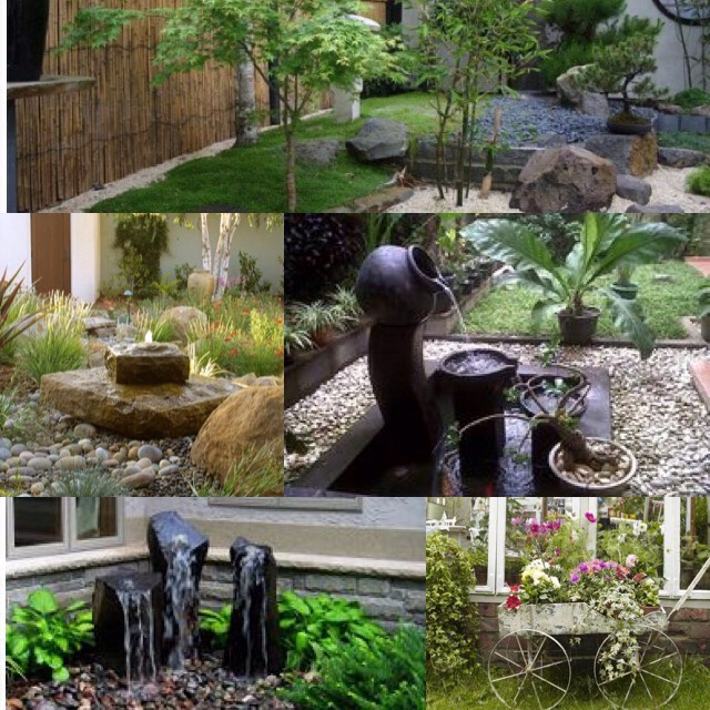 Lawn flamingos and little jockeys are a little outdated, but there are all kinds of cool things you can buy to spruce up the front of your home. Stone sculptures and water fountains can give your lawn a bit of peaceful zen.