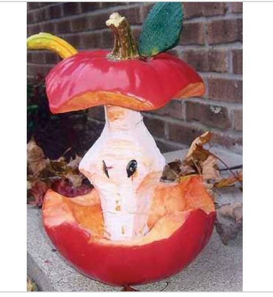 Apple core pumpkin