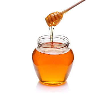 table spoon of honey