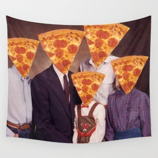 27. And a wall tapestry of your family portrait.