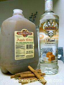 make some seasonal drinks