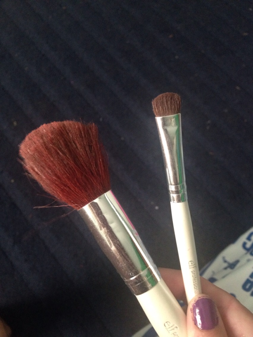 Brushes of all sorts (here is a all over brush, and an eye shadow brush)