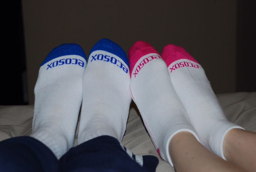 Put Vaseline on your feet before you go to bed then put a pair of socks on.... It softens your feet
