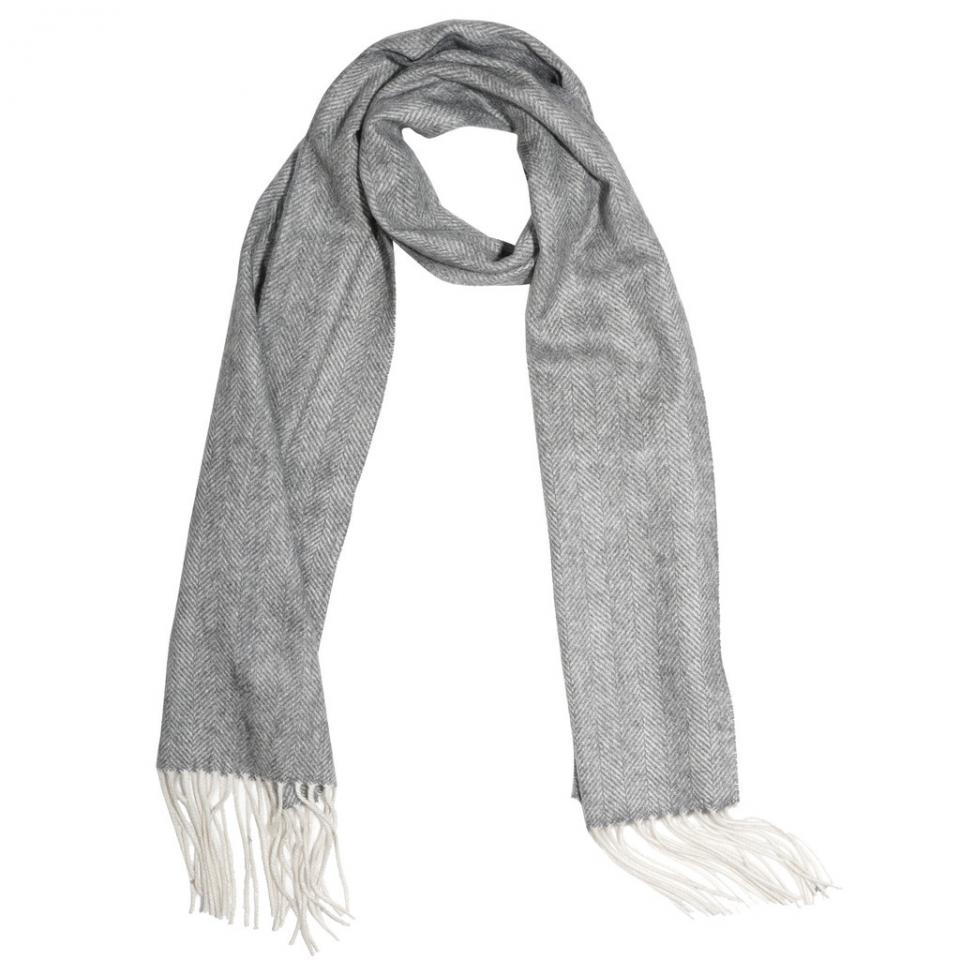 Add a scarf to add more chic into your uniform.