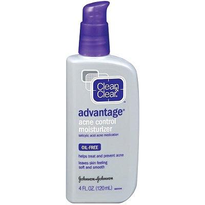 After I wash my face, I moisturize my skin