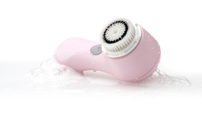 I use my clarisonic brush for deep cleaning
