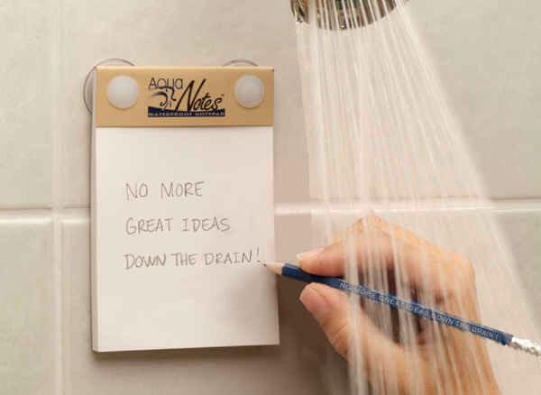 1. Waterproof Notepad