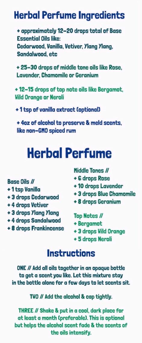 DIY Perfume (Using Essential Oils)