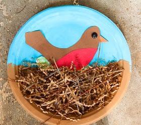 -> Paper Plate Bird Nest