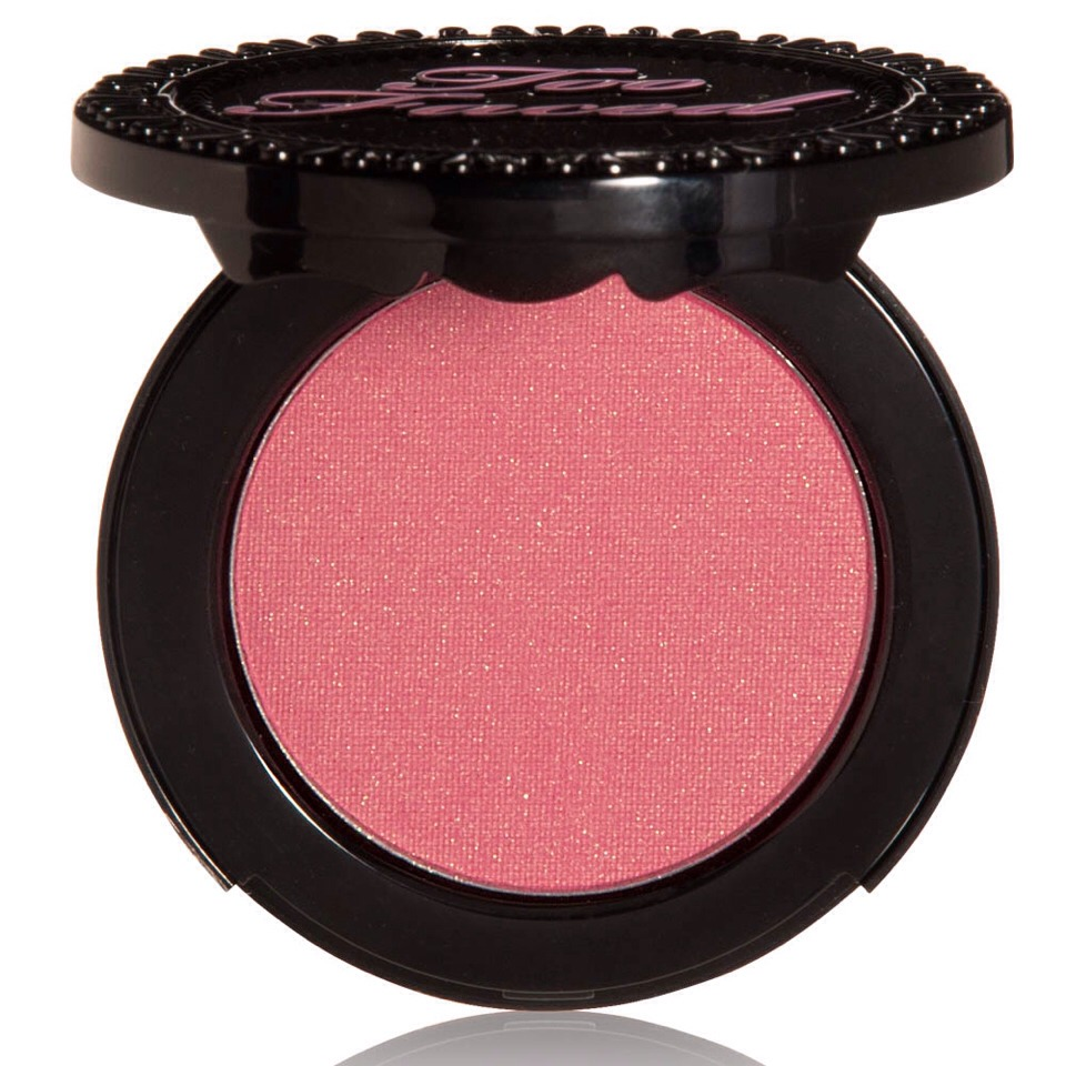 To finish off the skin, add blush. This is very important for keeping you from looking horribly and vampirishly pale onstage under the lights. However, especially with blush, there is a fine line between having enough to bring out your coloring and looking like a clown. I have had far to many