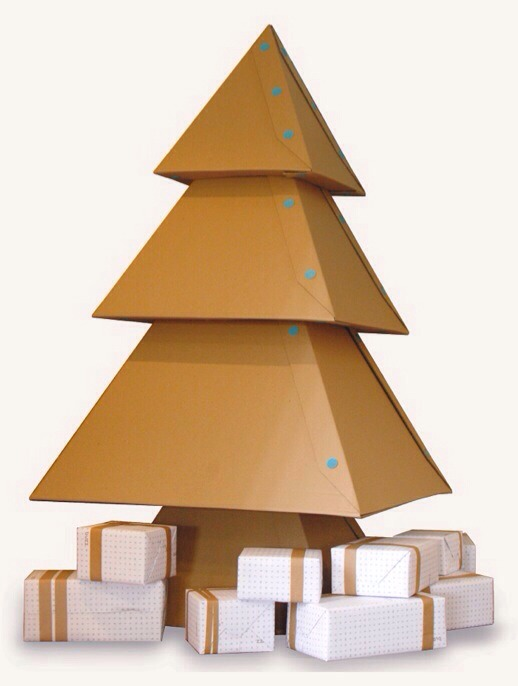 Cardboard Box Christmas Tree By Tbird Rodrigues Musely