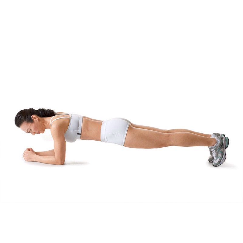 30 second plank hold