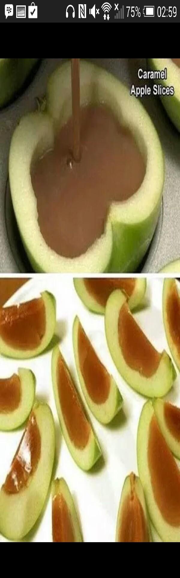 How to make caramel apple slices 💕