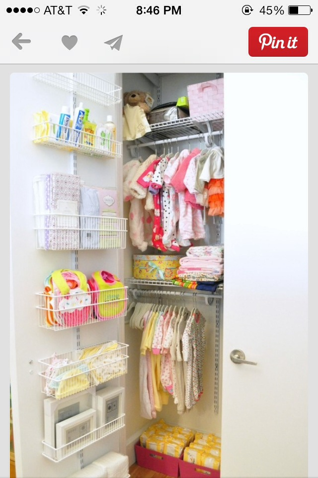 The avid appetite/ closet for baby😍💞👍