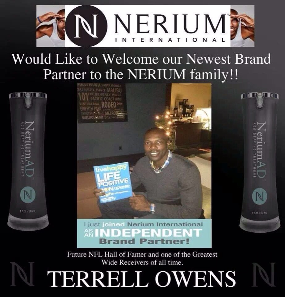 Yup! Celebrities all over are joining  Nerium because they see how awesome this company is! And the product is simply amazing!
