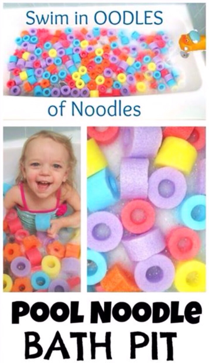 ❤️Your child will love bath time with oodles of noodles ❤️