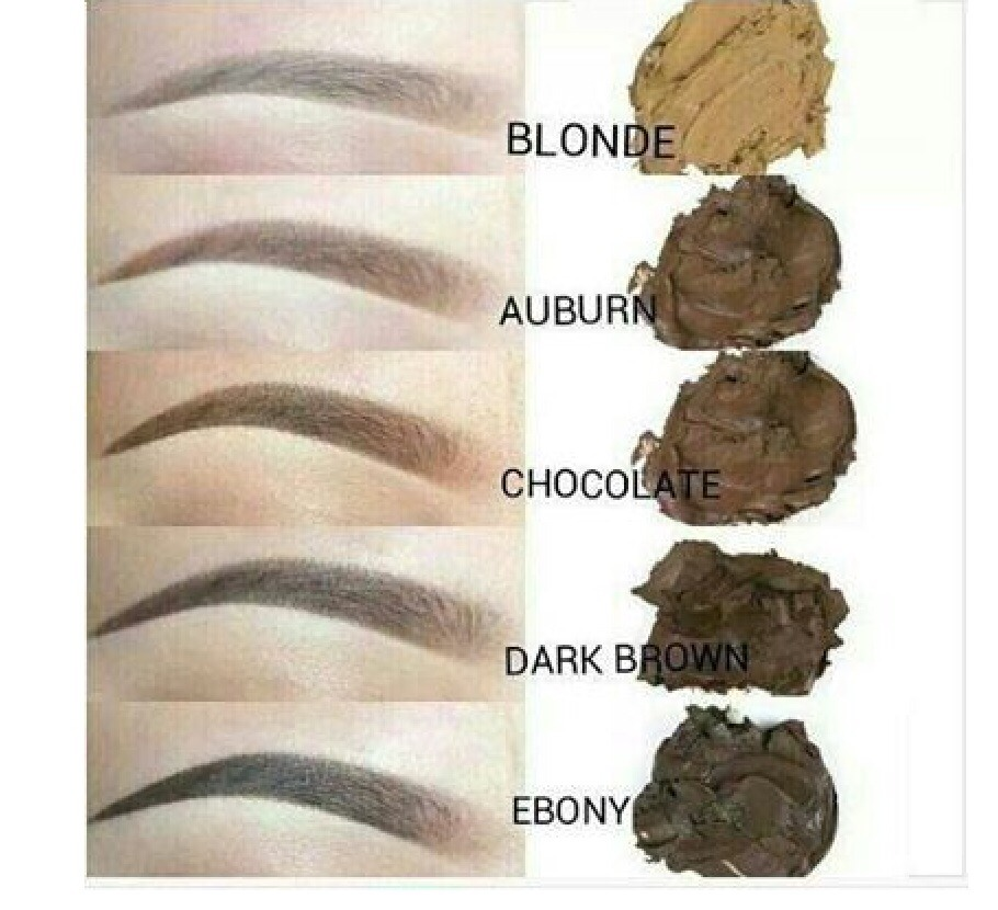 Eyebrow Color Guide Expert User Guide