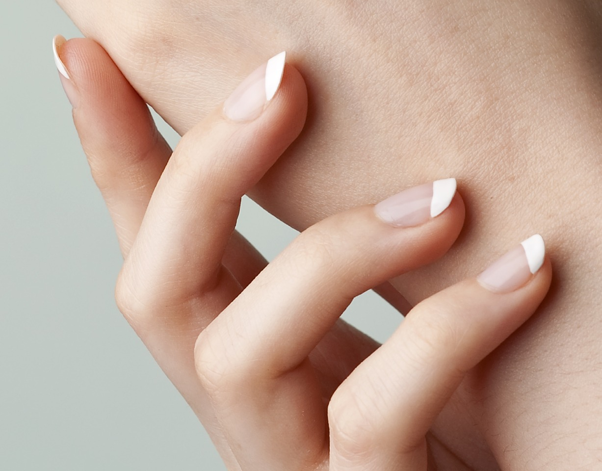 Leave to grow and over time nails will grow back perfect