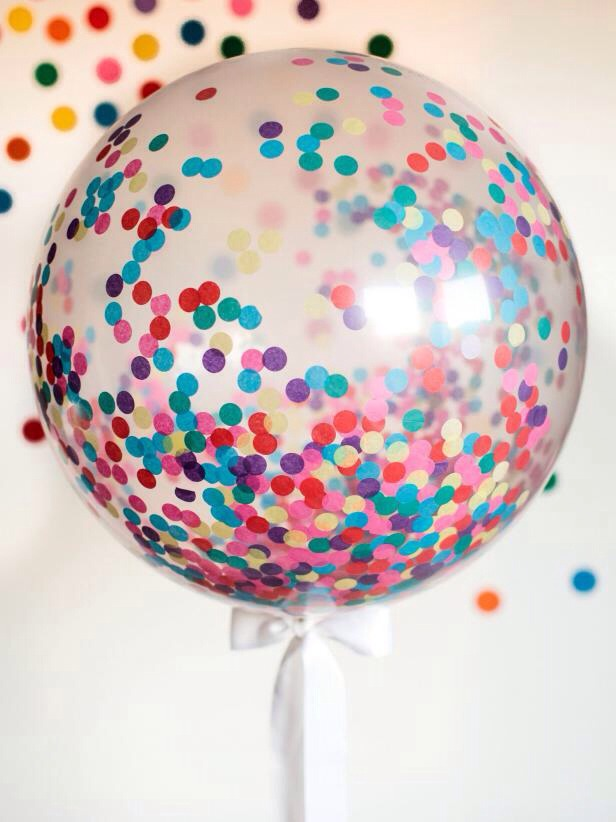 How to Make a Giant Confetti Balloon  diynetwork.com