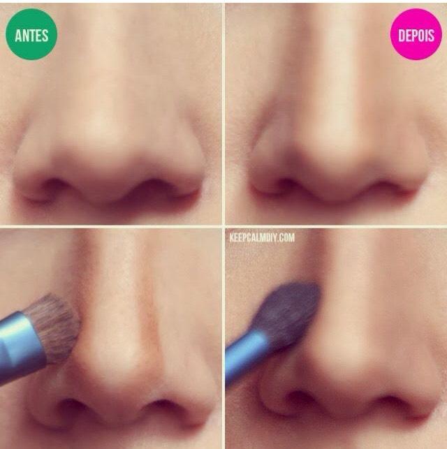Thinner longer nose