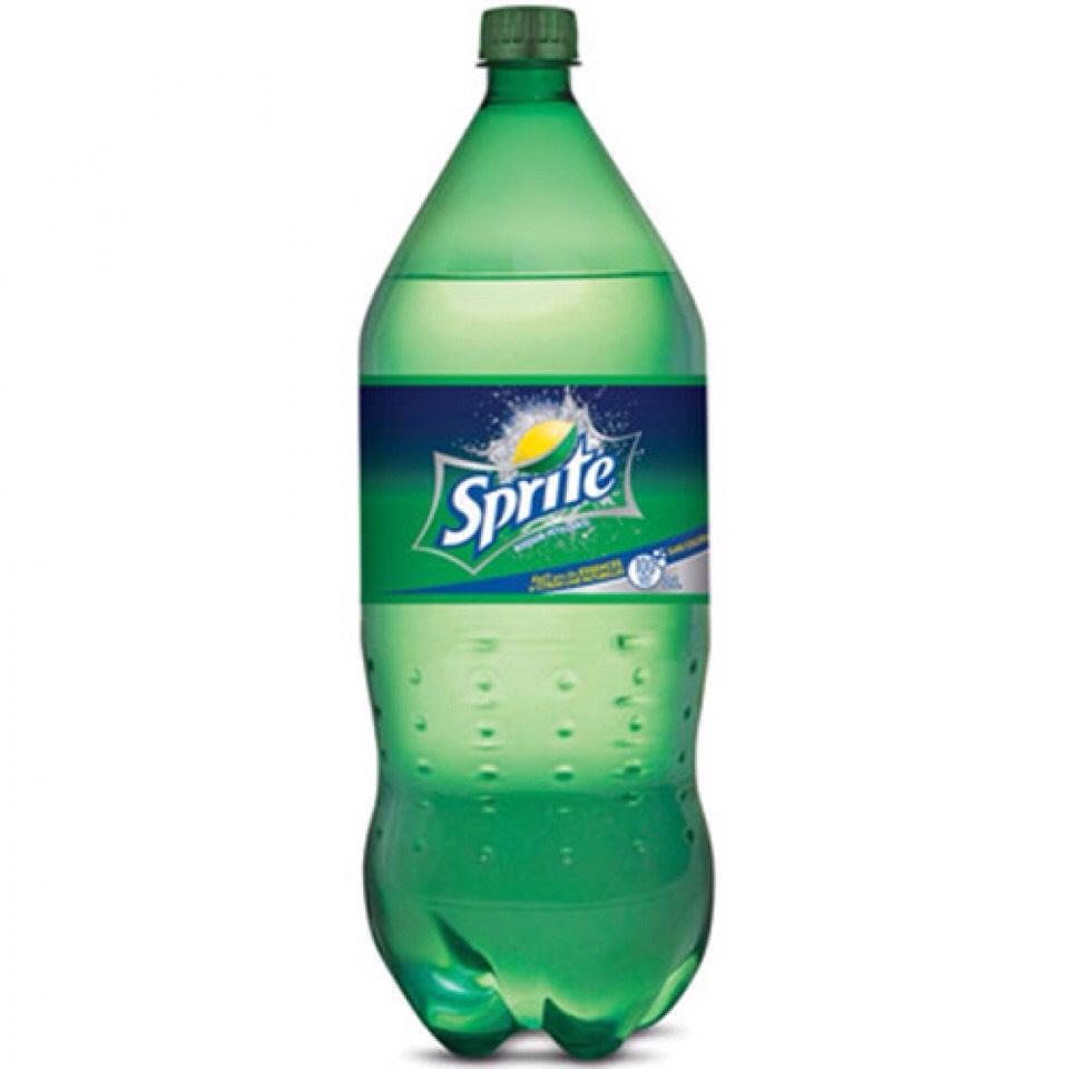 1-2 liters of sprite