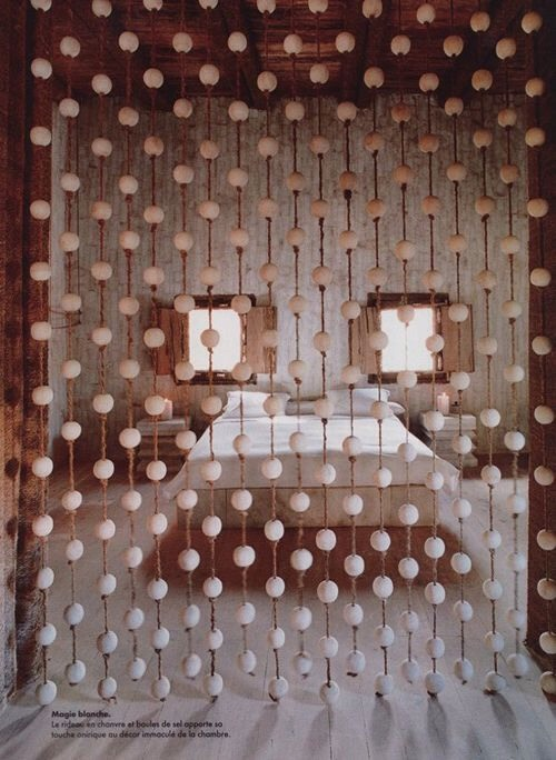 Ping Pong Ball Curtain For Room