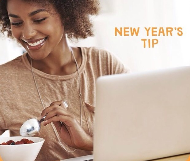 If you're looking to loose weight in 2014, make sure to EAT YOUR BREAKFAST. Research shows that people who eat breakfast have an easier time controlling their weight.