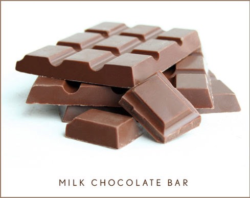 Take one chocolate bar and put it in a double boiler or melt it in the microwave